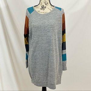 Harhay Color Block Tunic Size XL